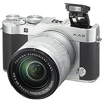 Fujifilm X-A3 24.2MP Full HD 1080p Wi-Fi Mirrorless Digital Camera with 16-50mm Lens (Silver)