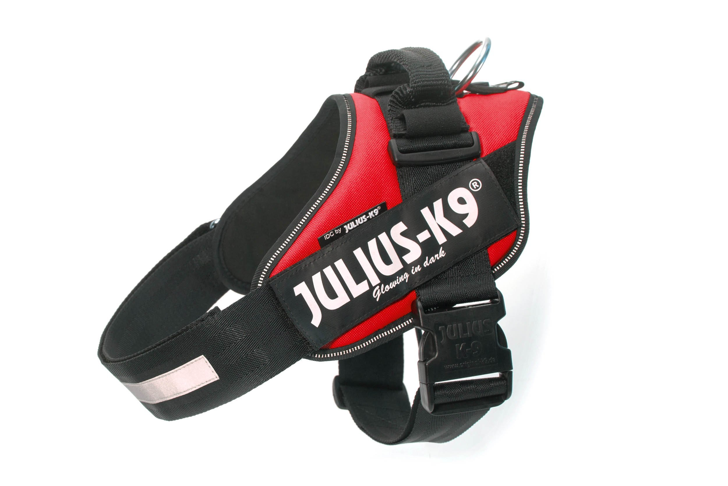 Julius-K9 IDC-Power Harness, Red, Size: 1/63-85 cm/26-33.5''