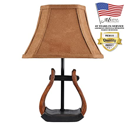 Amazon.com: Un acento Homestead Shoppe Stirrup lámpara de ...