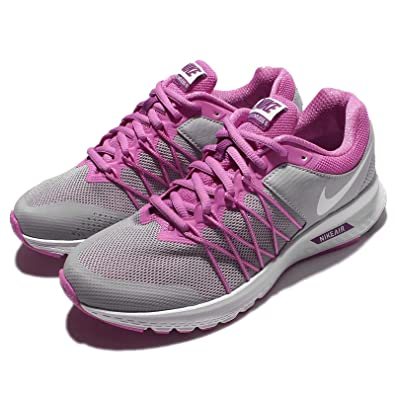 1ff63dd6867d Nike Women s Air Relentless 6 MSL WLF Grey and White Running Shoes - 5.5 UK