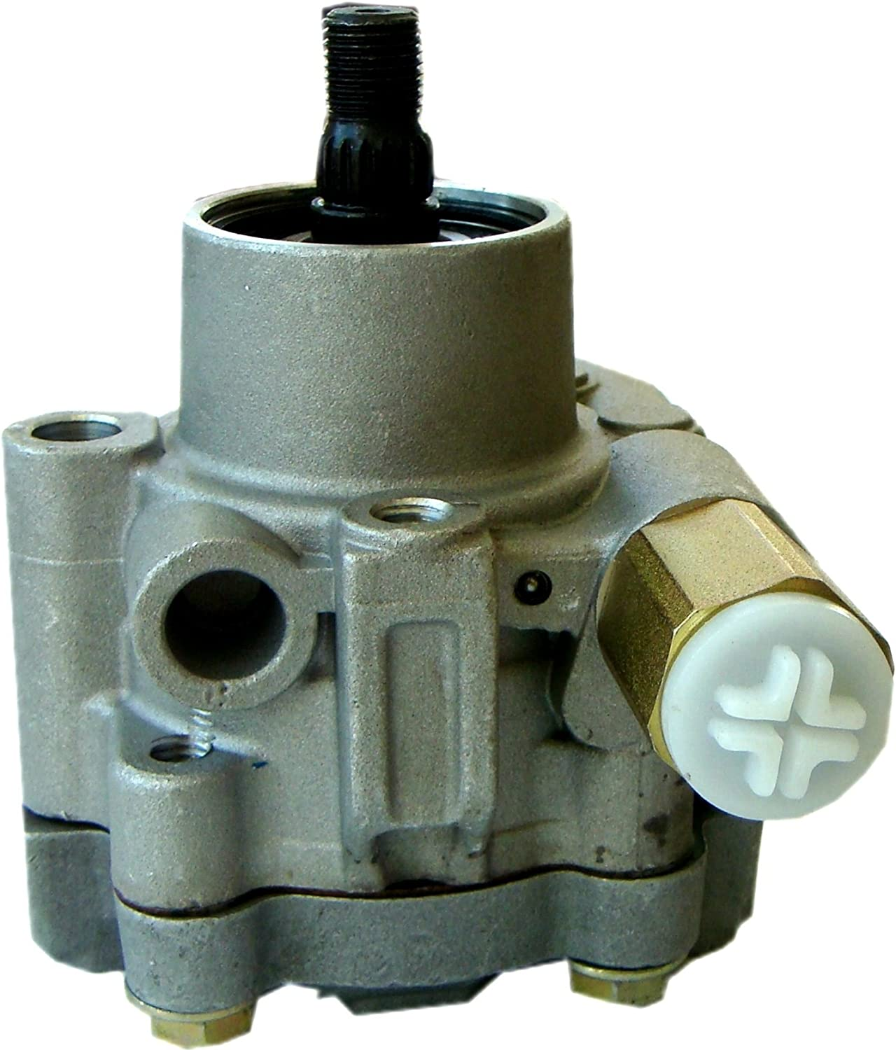 Power Steering Pump for 1999-2004 Nissan Frontier 3.3L V6 2000-2004 Nissan Xterra 3.3L V6 3.3 21-5219 Power Steering Pump V6 Replacement