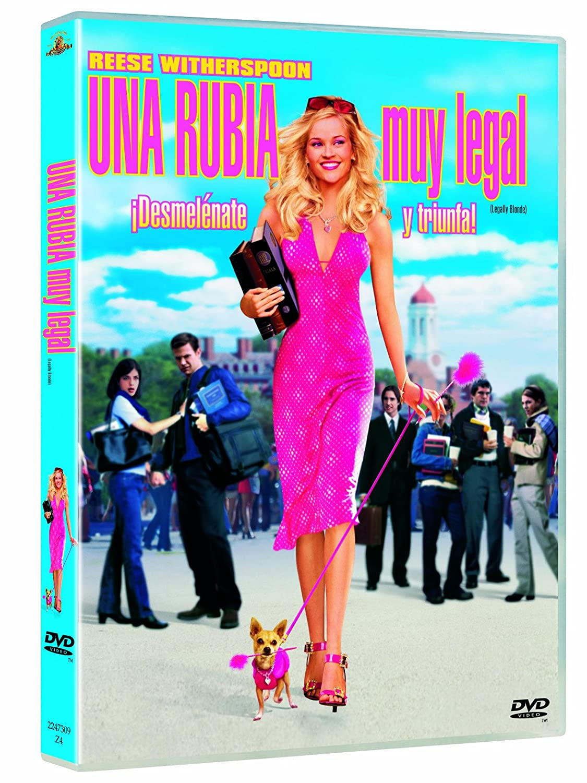 Una Rubia Muy Legal [DVD]
