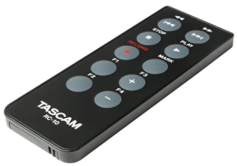 Amazon Tascam Rc 10 Wired Remote Control For Dr 40 And Dr