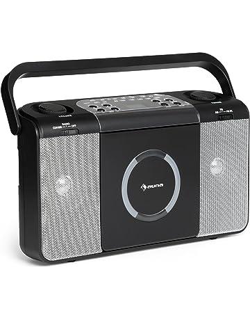 Auna Boomtown • Radio CD • Equipo estéreo • Boombox • Radiograbadora • MP3 • CD