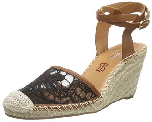 Buffalo London127103 Renda Sandali a Punta Aperta Donna Multicolore s7U