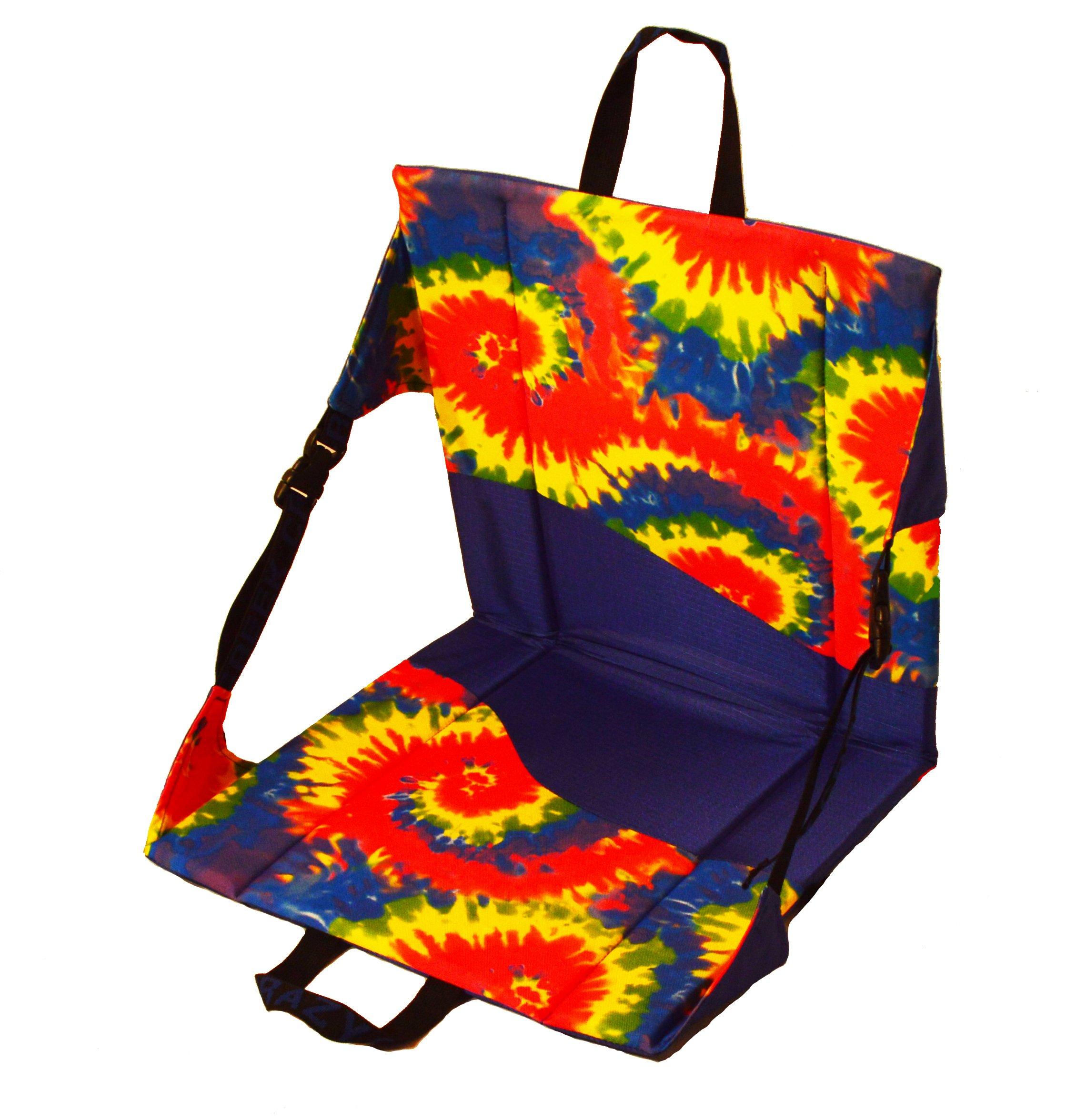 Crazy Creek Products Original Chair, Royal/Tie-Dye