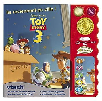 Vtech 62965 Jeu Electronique Magi Livre Interactif Toy Story 3