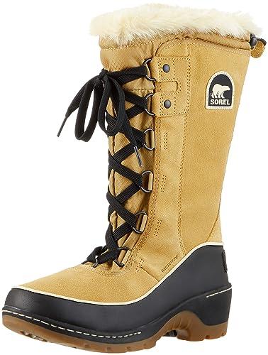 5750afefb Sorel Women's Boots, Torino High, Brown (Curry)/Black, Size UK