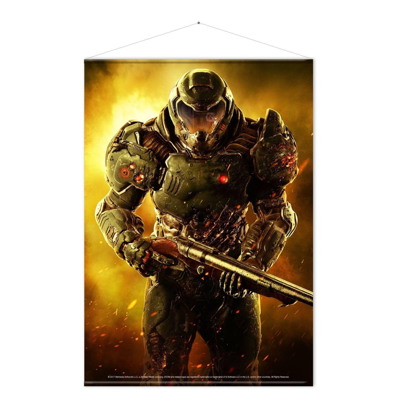Doom Wallscroll Doom Marine 100 x 77 cm Gaya Entertainment Posters ...