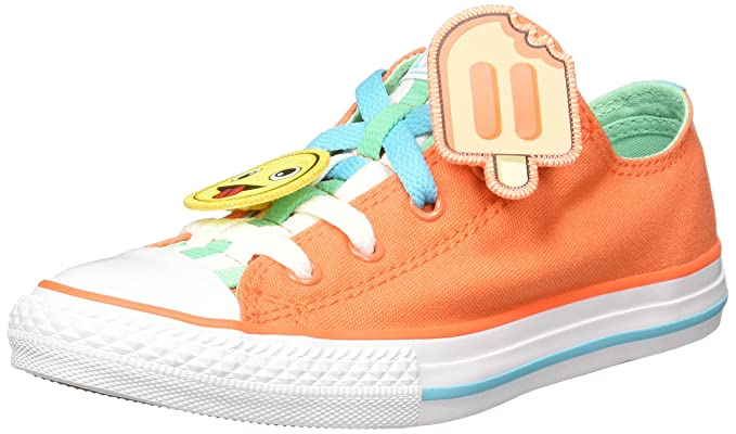 2a4674a59c777f adidas Unisex Kids  Chuck Taylor All Star Loopholes Ox Low-Top Sneakers