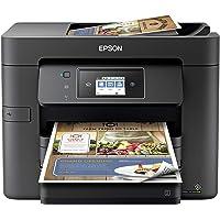 Epson Workforce Pro WF-3732 All-in-One Wireless Color Inkjet Printer - 4-in-1 Print Scan Copy Fax - 20 ppm, 500-Sheet…