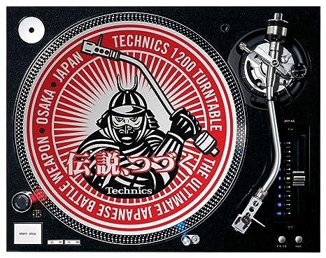 Technics Samurai DJ Slipmats - Slipmats para tocadiscos ...