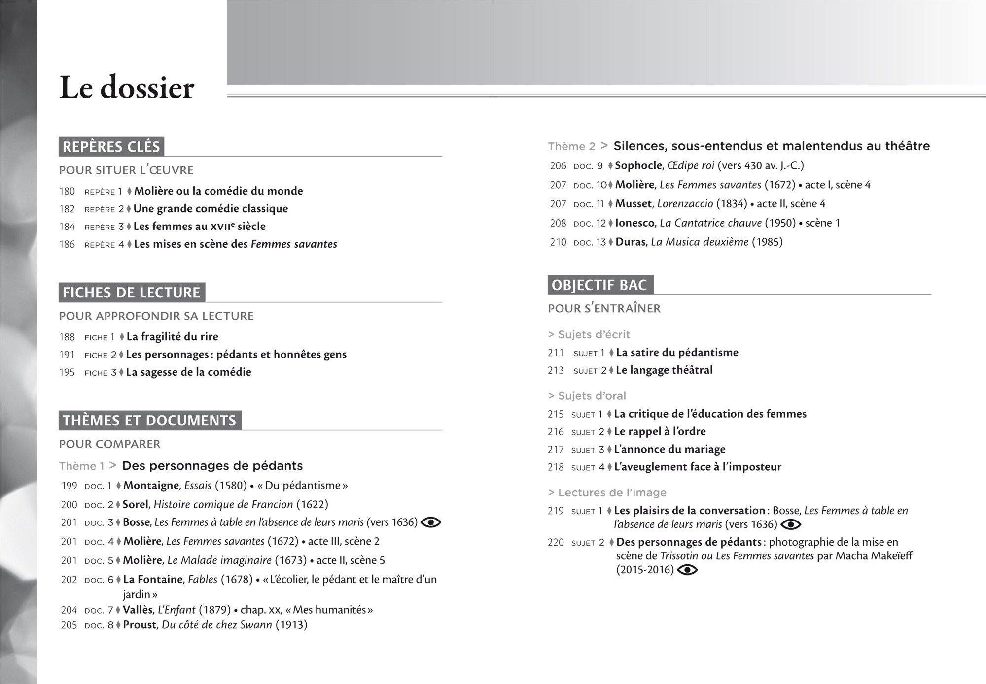 Les femmes savantes : Suivi dune anthologie sur la condition des femmes: Molière: 9782218997556: Amazon.com: Books