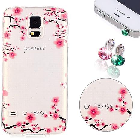 c4aaf34887e Galaxy S5 Neo, S5 Neo Cover, Galaxy S5 Neo Case, pershoo Hot esmaltes  Bronzing Imprimir TPU Silicona Softcase Carcasa Funda para Samsung ...