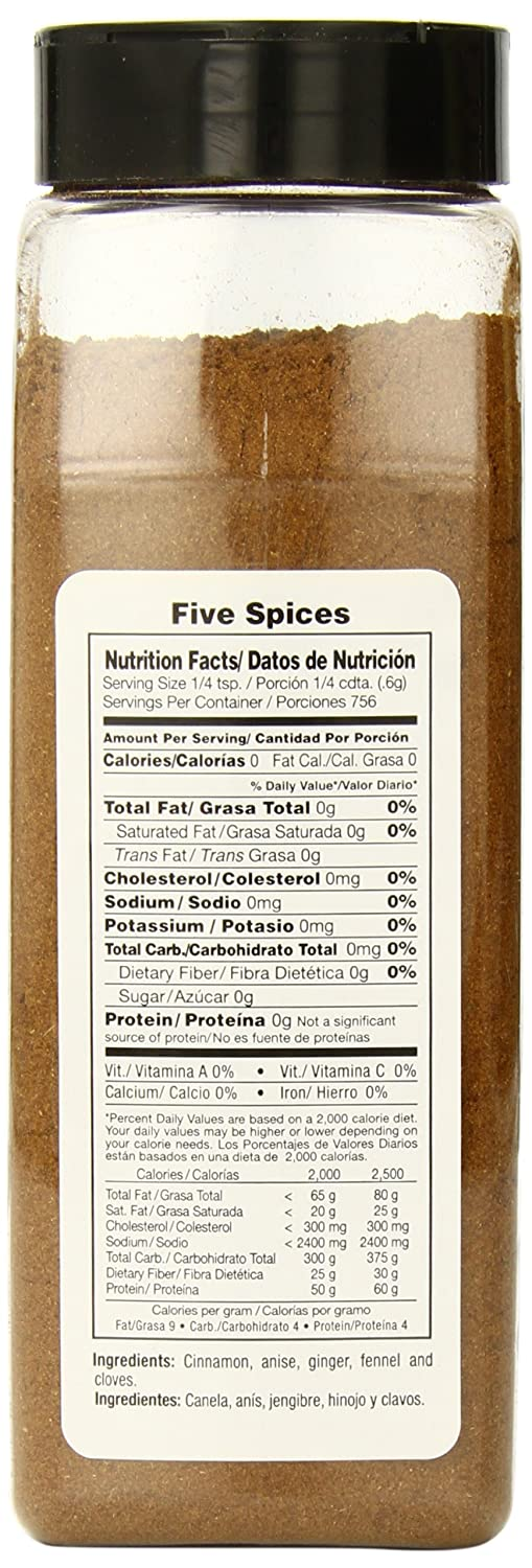 Amazon.com : Badia Five Spice, 16 Ounce (Pack of 6) : Chinese Five Spice : Grocery & Gourmet Food