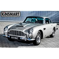 Magicwand Kinsmart 1:38 Scale Die-Cast Metal Aston Martin DB5 (James Bond 007 Car) with Openable Doors and Pull Back Action
