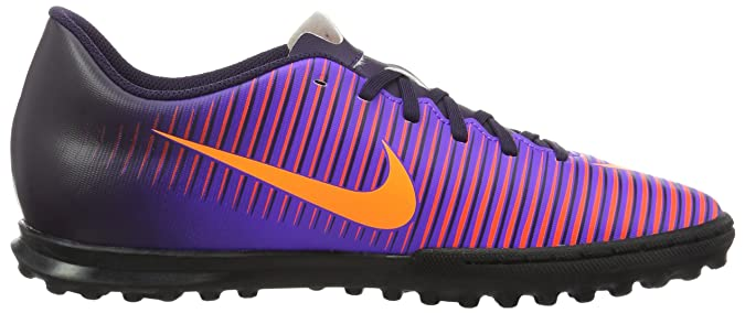 hot sale online 67cae 005e4 Nike 831971-585, Chaussures de Football en Salle Homme, Violet (Purple  Dynasty/Bright Citrus-Hyper Grape), 38.5 EU: Amazon.fr: Chaussures et Sacs
