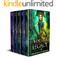 The Voodoo Legacy Complete Series: An Action Packed Fantasy Adventure book cover