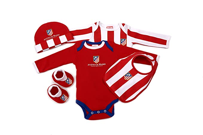 59fb7d99af259 PACK RECIEN NACIDO ATLETICO DE MADRID  Amazon.es  Ropa y accesorios