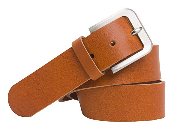 in vendita all'ingrosso nuova versione eccezionale gamma di stili e colori shenky - Cintura 100% pelle bovina con fibbia grossa - larga 4 cm