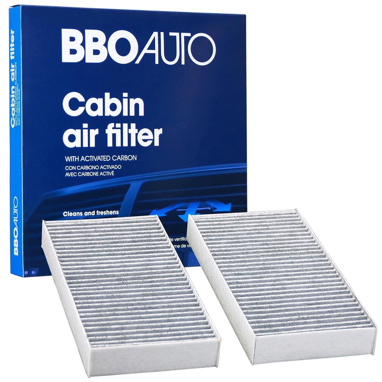 BBO AUTO BCF10135 Premium Cabin Air Filter with Active Carbon Media – Fits Honda Element, CRV, Civic | Acura RSX (CF10135 REPLACEMENT) Big Blue Ocean Inc.
