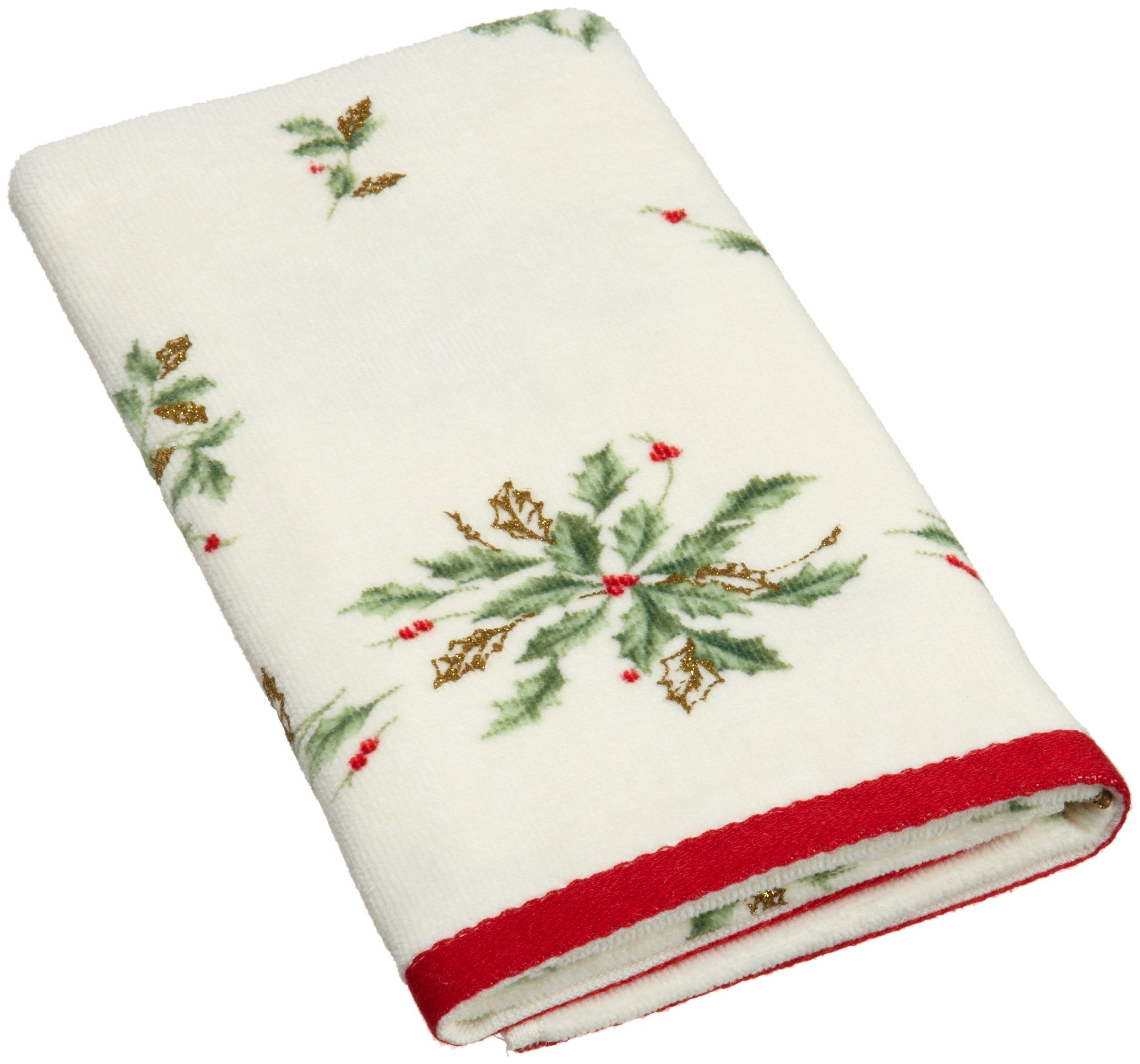 Lenox Holiday Printed Hand Towel