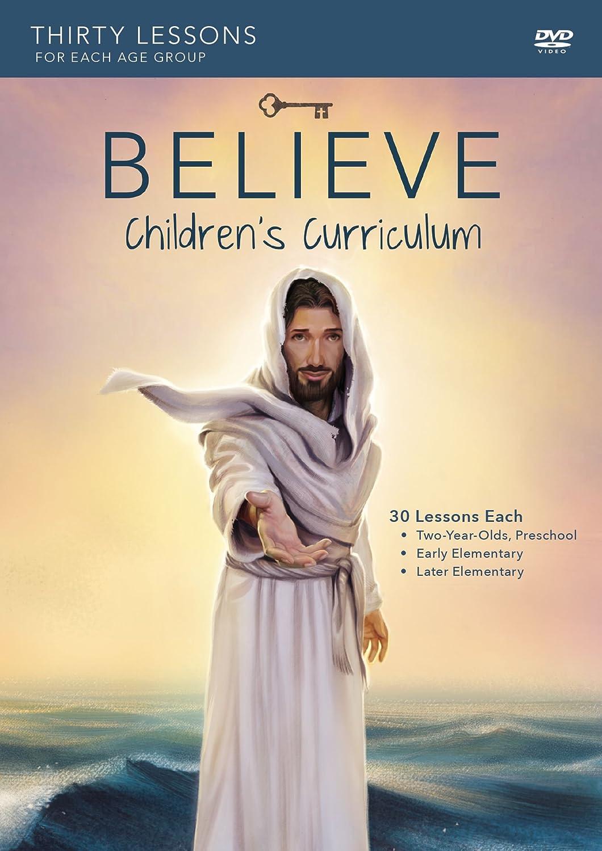 amazon com believe children u0027s curriculum living the story of the