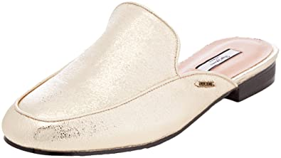 Pepe Jeans Damen Klimpt TSE Slipper  40 EUGold (Gold)