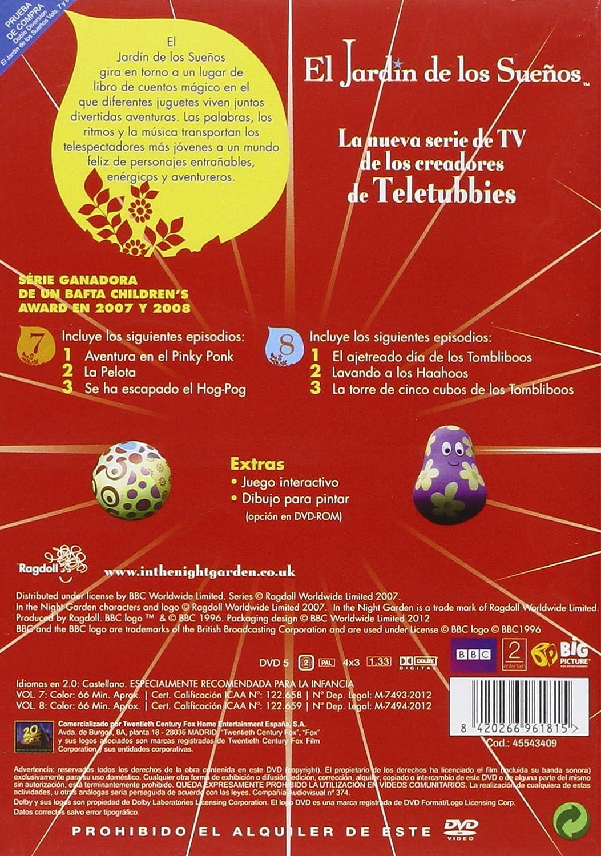 El Jardin De Los Suenos Vol 7 8 Amazon Co Uk Dvd Blu Ray