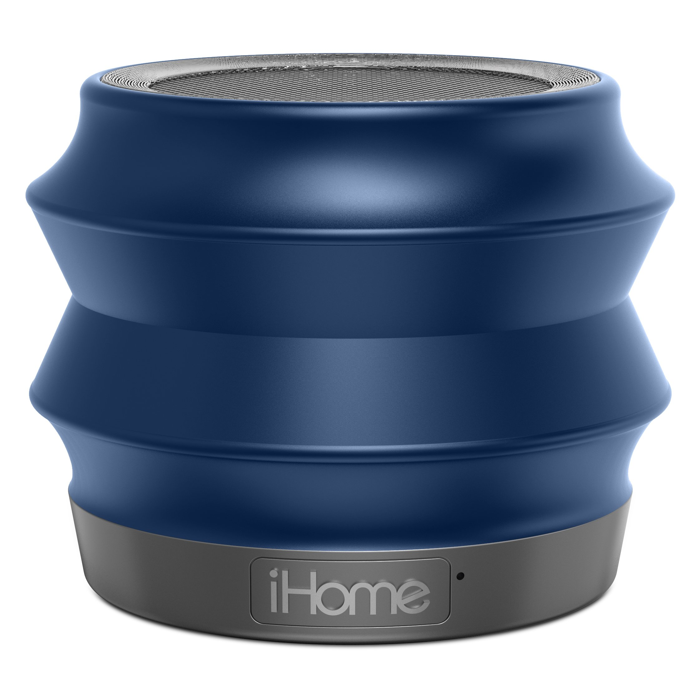 Ihome Ibt61bc Portable Collapsible Bluetooth Speaker With..
