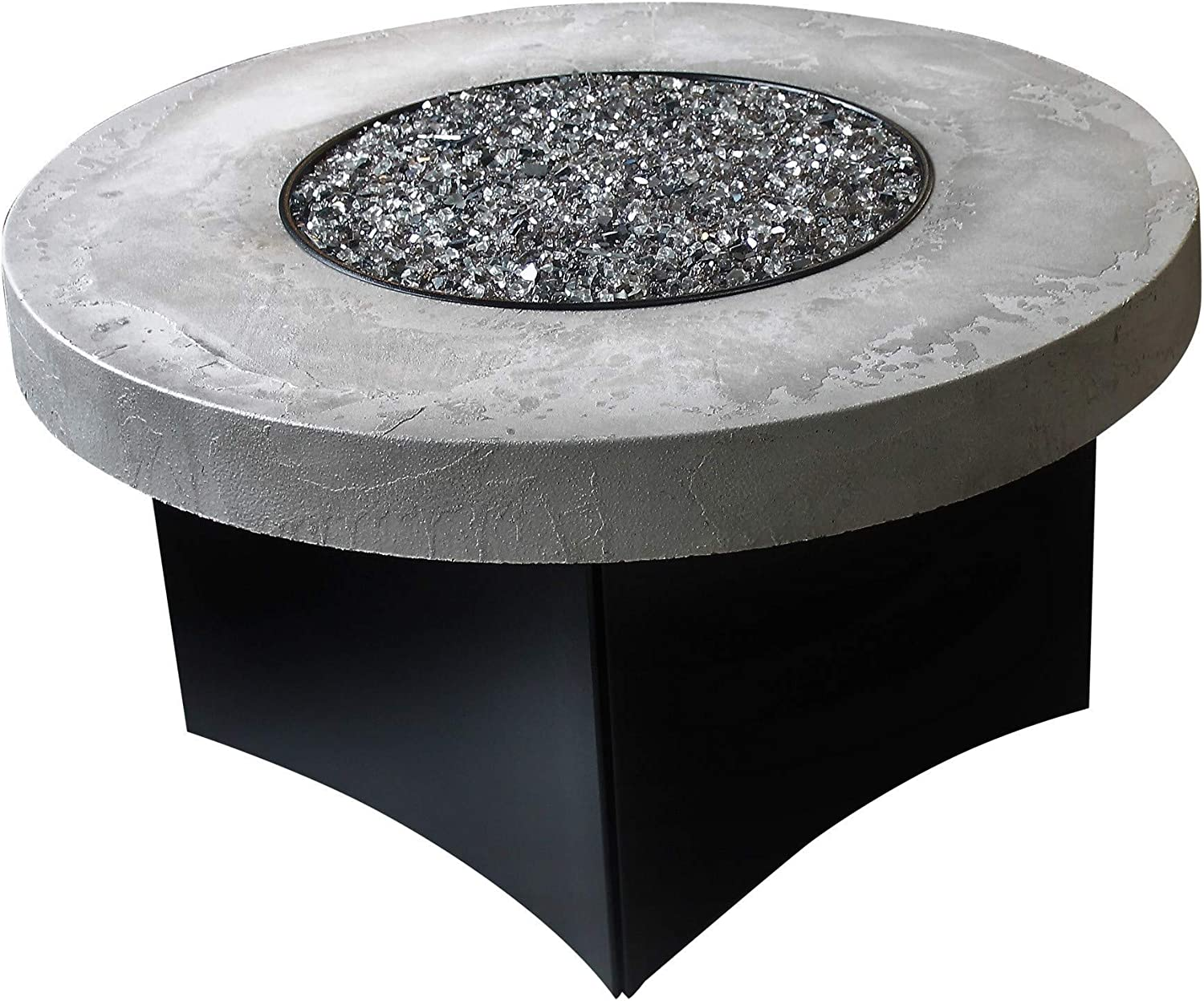 "B079XY3HS2 Oriflamme Outdoor Propane Fire Table, Greystone Elegance, 42"" Round 81rE2wiq5uL.SL1500_"