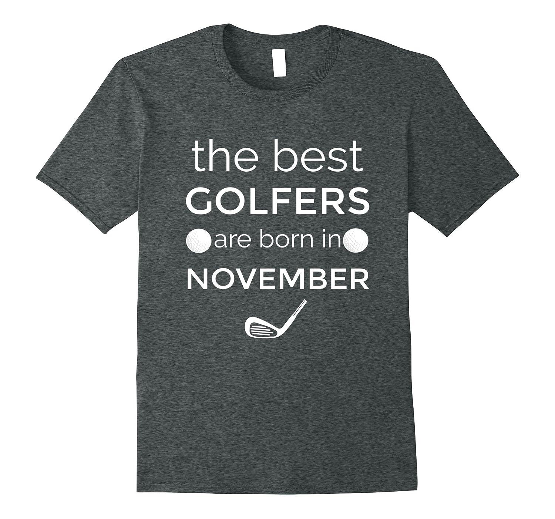 Golf Shirts For Men November Birthday Shirt Dad Gifts ANZ