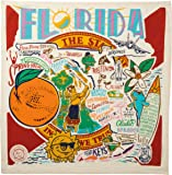 "Primitives by Kathy 28"" Dish Towel Florida"