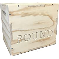 Bound 3-in-1 Wood Plyo Box - (30/24/20 - 24/20/16 - 20/18/16 - 16/14/12) - CrossFit...