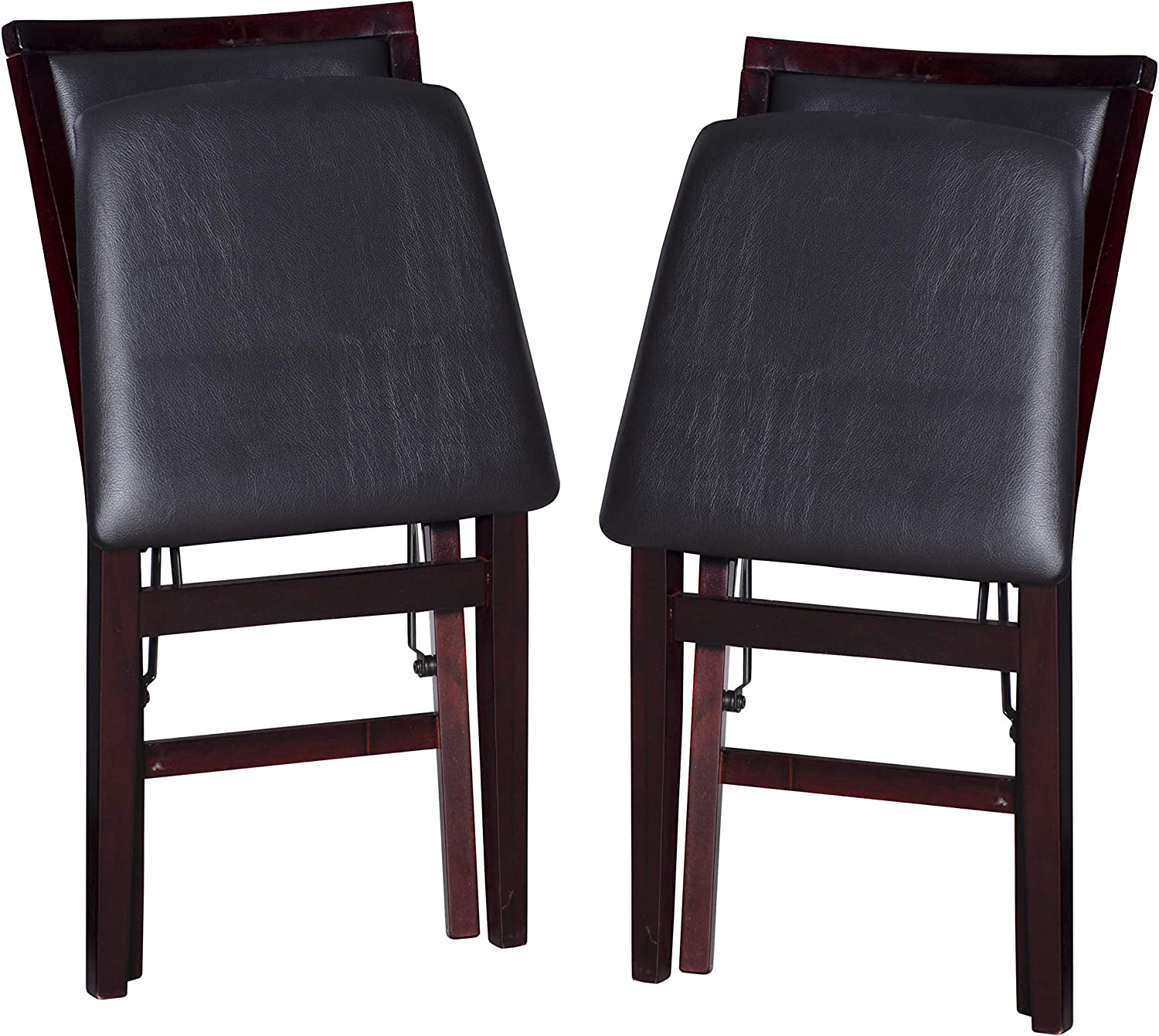 Linon Keira Pad Folding Chair 2 X Pack of 2