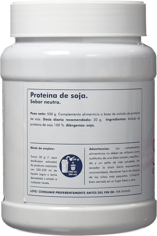 Clarou Proteína de Soja, Sabor Neutro - 500 gr: Amazon.es: Salud y ...