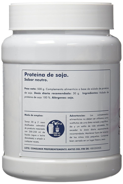 Clarou Proteína de Soja, Sabor Neutro - 500 gr: Amazon.es: Salud y cuidado personal