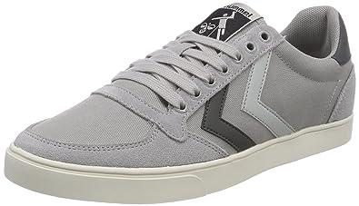 purchase cheap ba014 c411c hummel Unisex-Erwachsene Slimmer Stadil Duo Canvas Low Sneaker