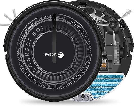 Fagor FG2120, Aspirador Robot WiFi, Negro: Amazon.es: Hogar