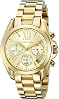 Michael Kors Women's Goldtone Mini Bradshaw Watch