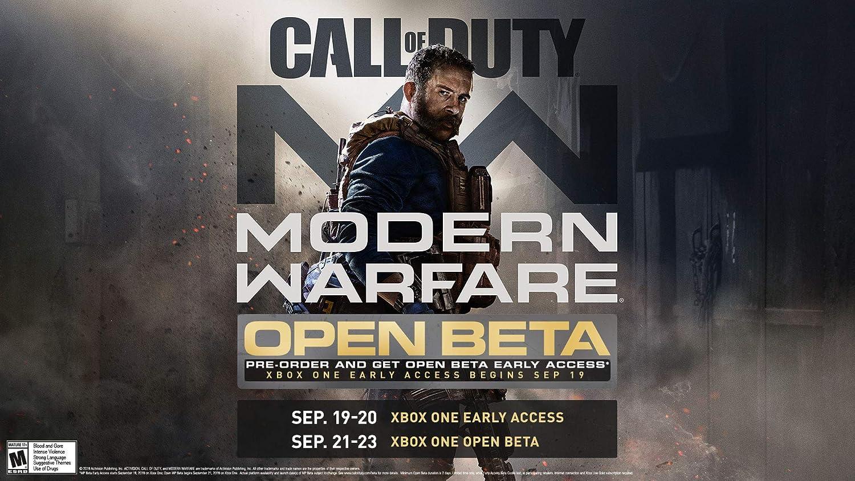 Amazon com: Call of Duty: Modern Warfare - Xbox One