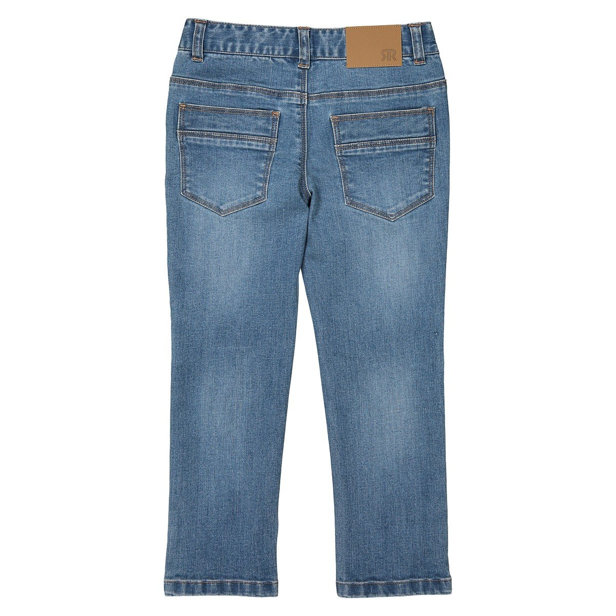 La Redoute Collections Big Boys Straight Jeans Full Fit 3-12 Years