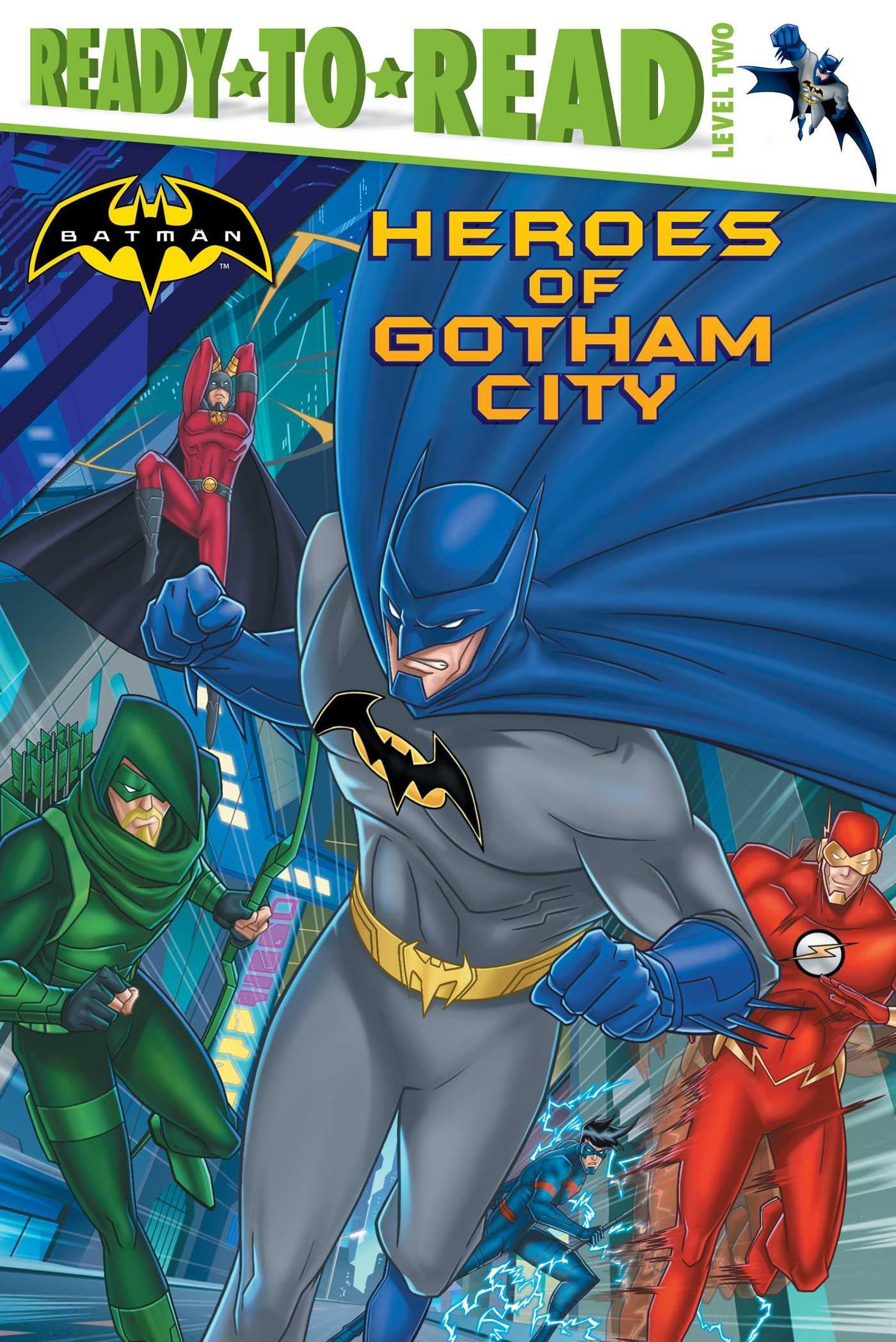 Heroes of Gotham City (Batman) PDF ePub book