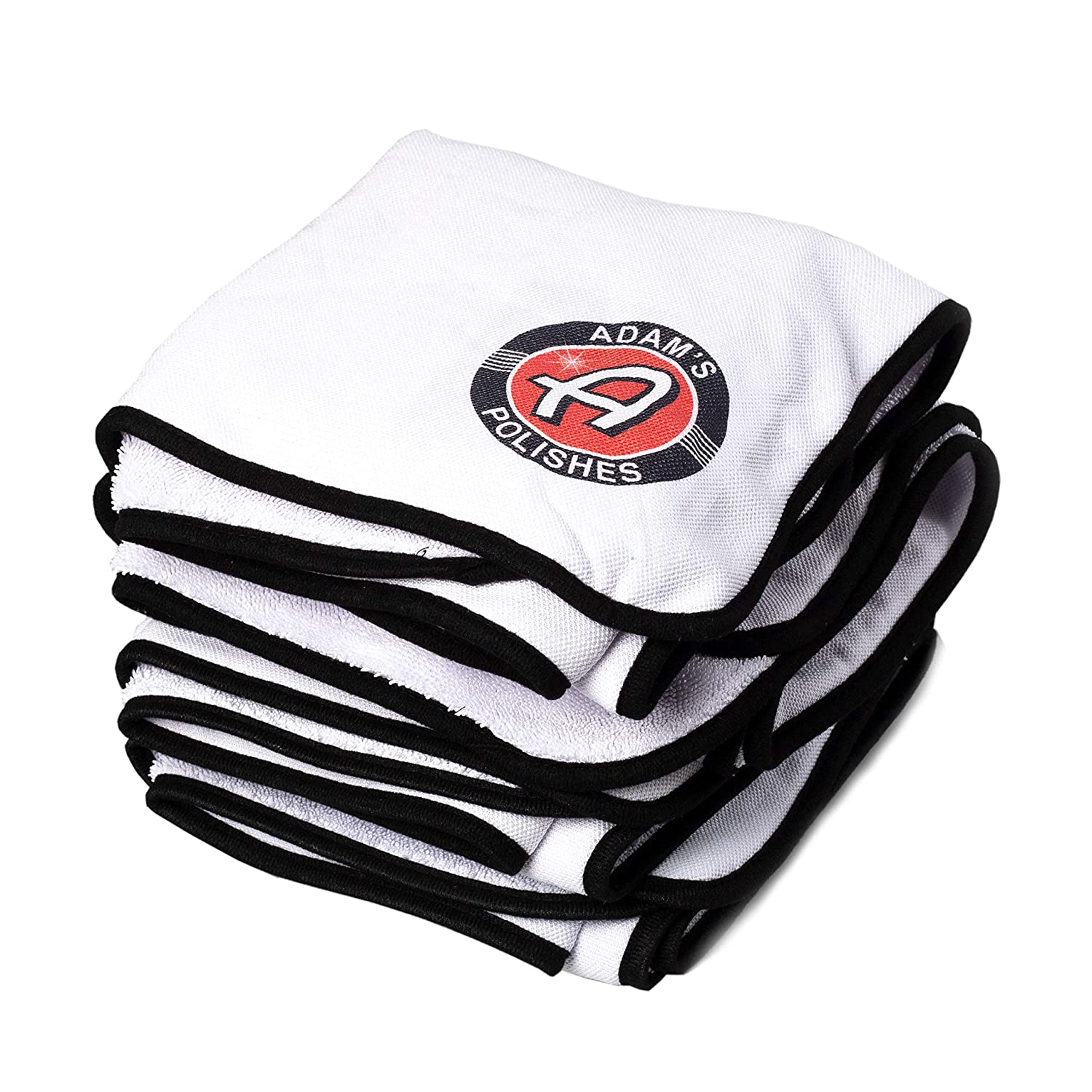 Adam's Ultra Plush Drying Towel 2 Pack - Wont Scratch or Swirl Delicate Surfaces - Soft & Extremely Absorbent Microfiber Drying Towel That Will Dry Your Entire Vehicle Adam' s Polishes 4332948872
