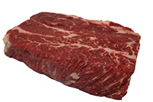 USDA Choice Beef Boneless Chuck Steak, 1 lb