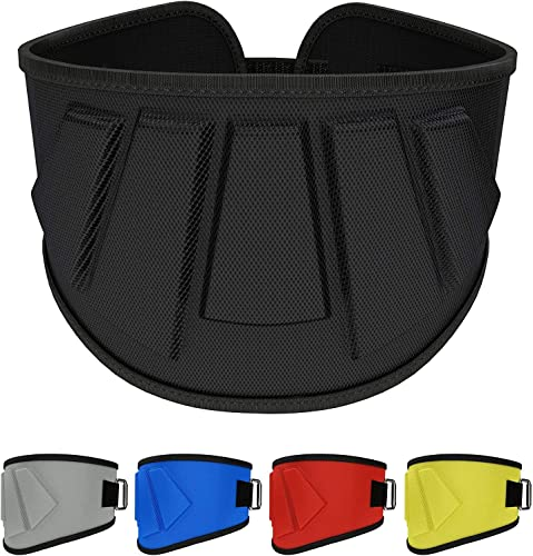Rip Toned Weight Lifting Belt – 6 Inch Workout Belts for Weightlifting, Powerlifting, Bodybuilding, Strength Training – Back Support for Men Women – for Squats, Clean, Lunges, Deadlift, Bench Press