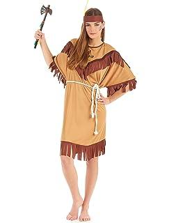 Costume di Carnevale da Indiana Vestito per Donna Adulti ... 29e2e32a31b