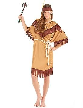 Disfraz de india para mujer - XL