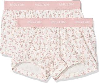 Melton Mutande Bambina (Pacco da 2) 2er-Pack AOP Mädchen Shorts Multicolore (Late 102) 12 Anni Pacco da 2 800272