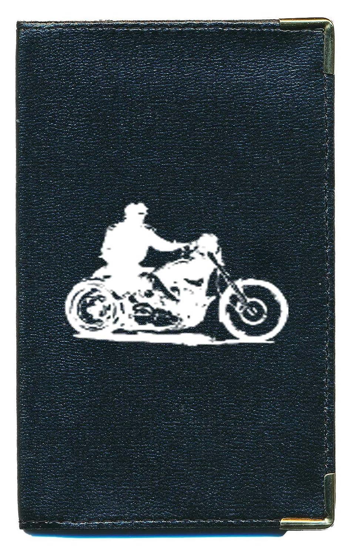 Pochette Etui Protection Porte Carte Grise - papiers voiture - permis de conduire Moto style Harley cg-harley